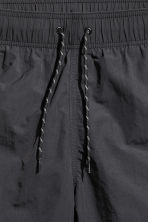 Knee-length swim shorts - Black - Men | H&M CN 3